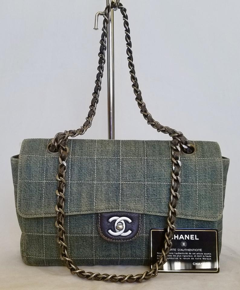 Chanel  chaneldenimflap  chanelbag  chaneldenimbag  chaneldenim   chanelnavybluebag Shoulder Bag ... 916cfb96ee