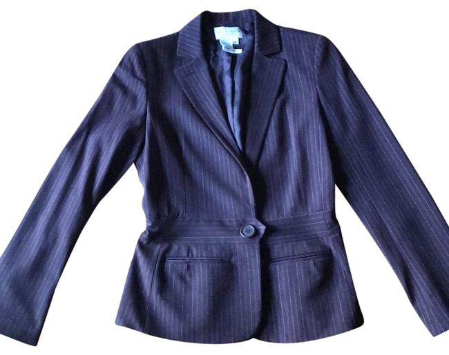 Item - Brown Pinstriped Pant Suit Size 6 (S)