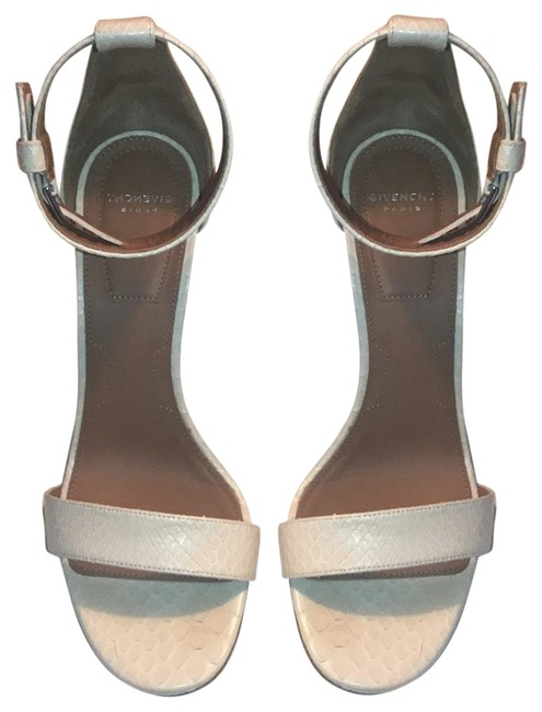 Givenchy Nude Snakeskin Ankle Strap Sandals Size EU 37 (Approx. US 7) Regular (M, B) Givenchy Nude Snakeskin Ankle Strap Sandals Size EU 37 (Approx. US 7) Regular (M, B) Image 1