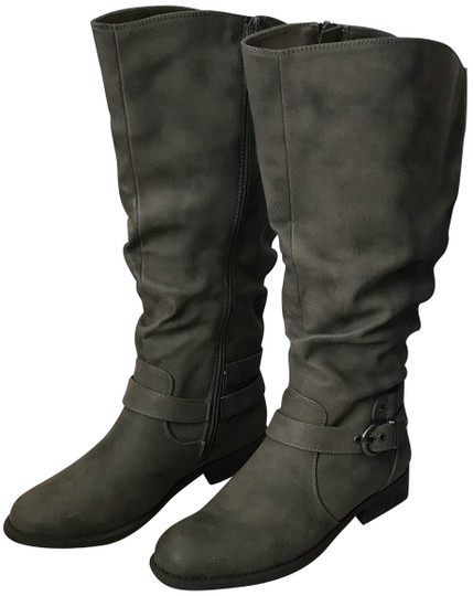 White Mountain Gray Life Boots/Booties