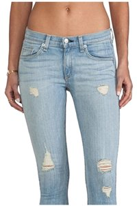 Rag & Bone Skinny Jeans-Light Wash