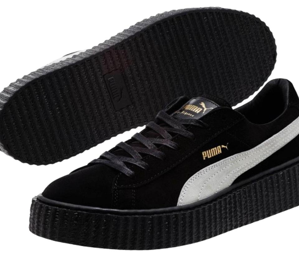 lowest price f8cbb 2f682 Black White Creepers Sneakers