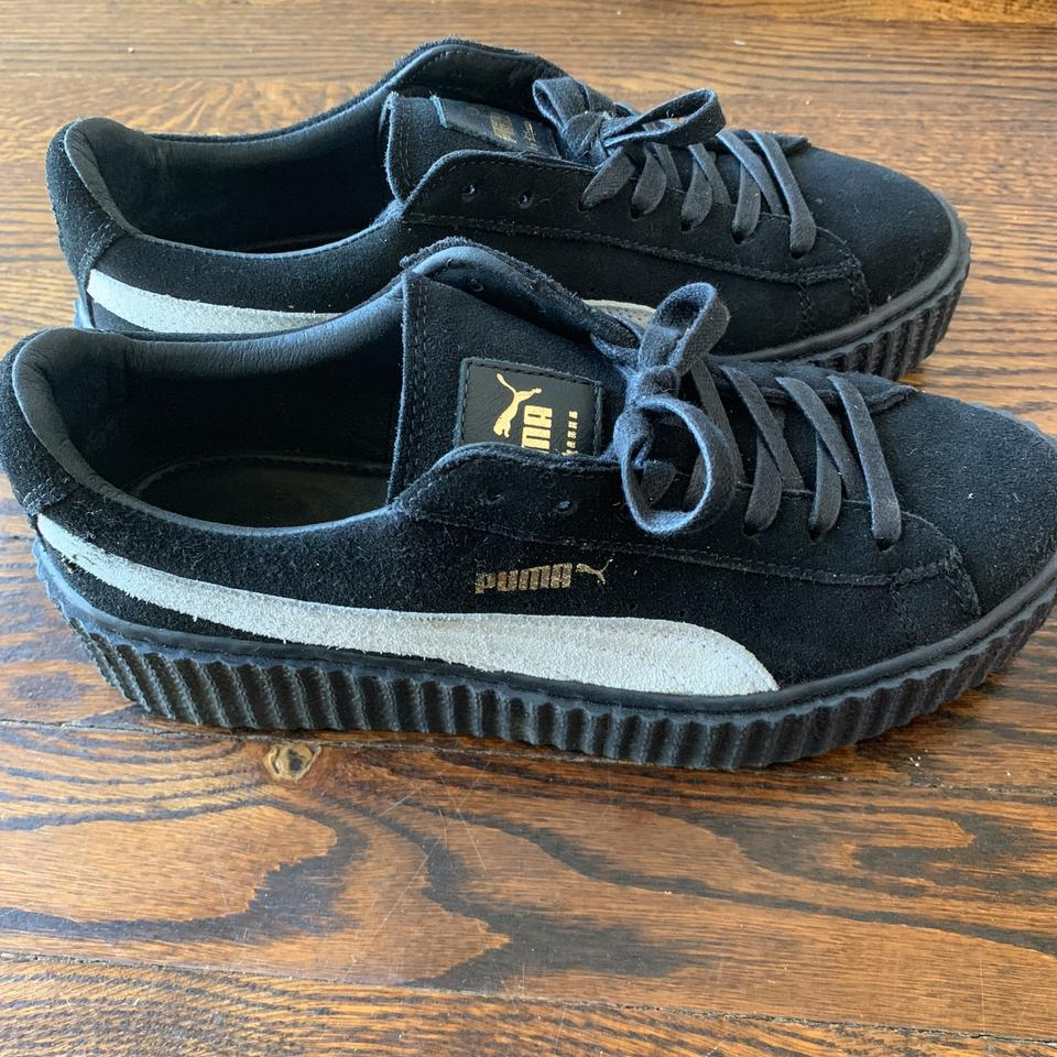 lowest price ab673 51c7c Black White Creepers Sneakers