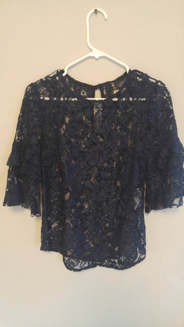 Reformation Top Navy