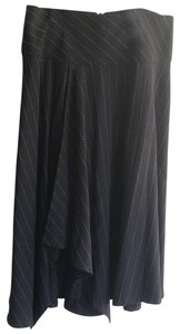 Sharagano Skirt midnight blue