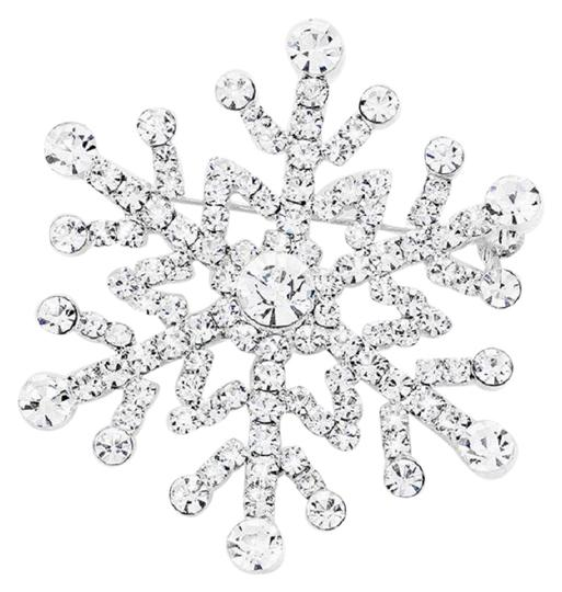 Preload https://img-static.tradesy.com/item/24414805/silver-plated-snowflake-pin-brooch-made-with-clear-swarovski-crystals-0-1-540-540.jpg