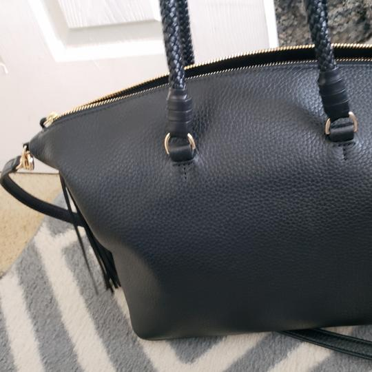 Tory Burch Taylor New Satchel in Black