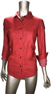 Broadway & Broome Button Down Shirt Rustic Red