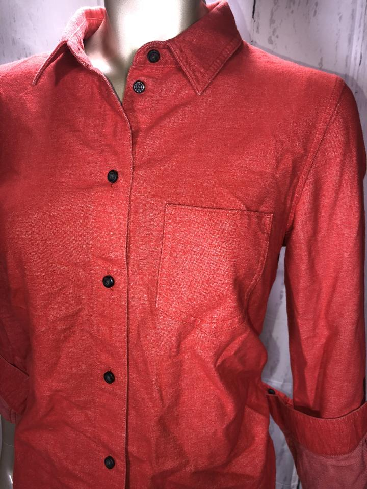 5cbb789f053bd1 Broadway   Broome Button Down Shirt Rustic Red Image 3. 1234. 1 ∕ 4
