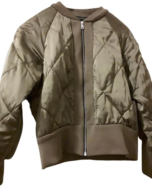 Item - Green Quilted Jacket Size 8 (M)