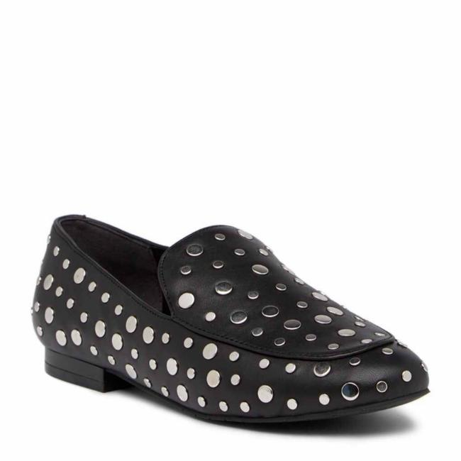 Kenneth Cole Black Studded Loafers Flats Size US 5.5 Regular (M, B) Kenneth Cole Black Studded Loafers Flats Size US 5.5 Regular (M, B) Image 1