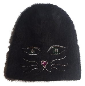 Jennifer Behr hat with crystal cat