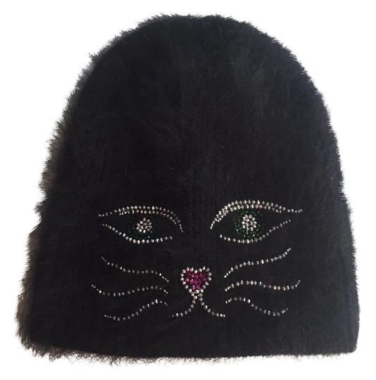 Preload https://img-static.tradesy.com/item/24415215/black-with-crystal-cat-hat-0-1-540-540.jpg
