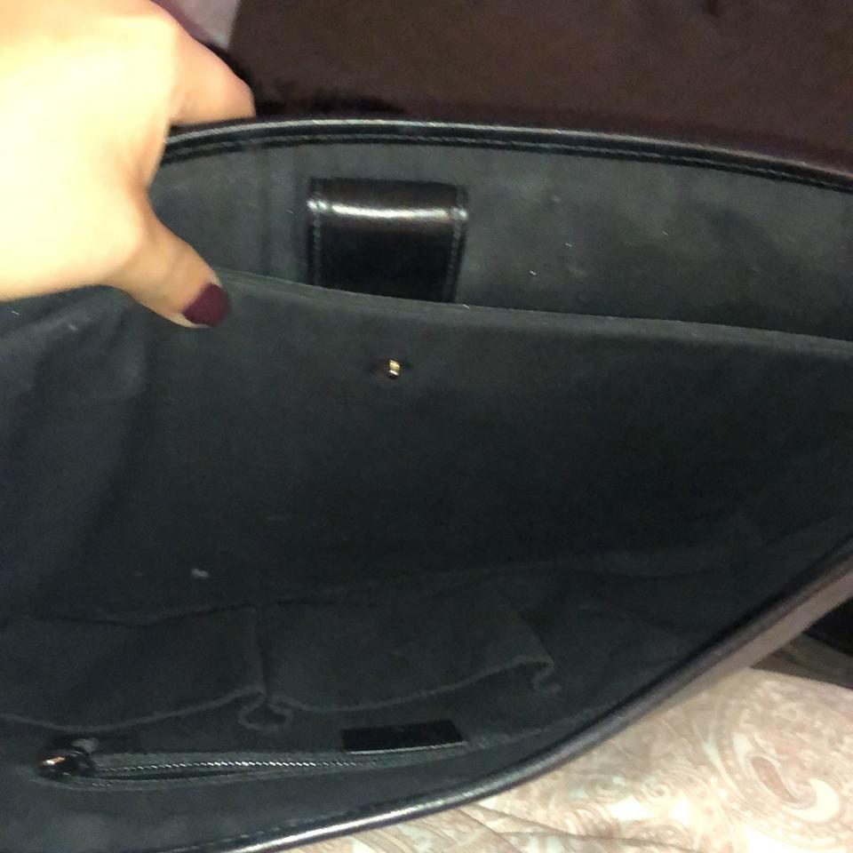 538b9a94f Gucci Messenger Diamante Collection Black Leather Laptop Bag - Tradesy
