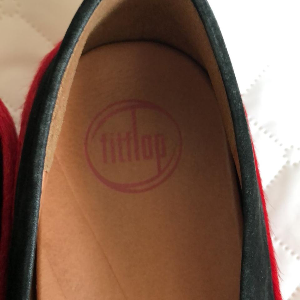 f9134f92868 FitFlop Tricolor Leather Flats Size EU 37.5 (Approx. US 7.5) Regular ...