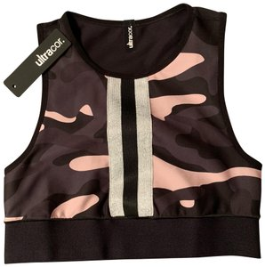 Ultracor level camo collegiate sports bra