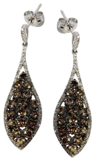 Preload https://img-static.tradesy.com/item/24415490/black-and-white-fancy-color-diamond-cluster-drop-dangle-14k-gold-275ct-earrings-0-1-540-540.jpg