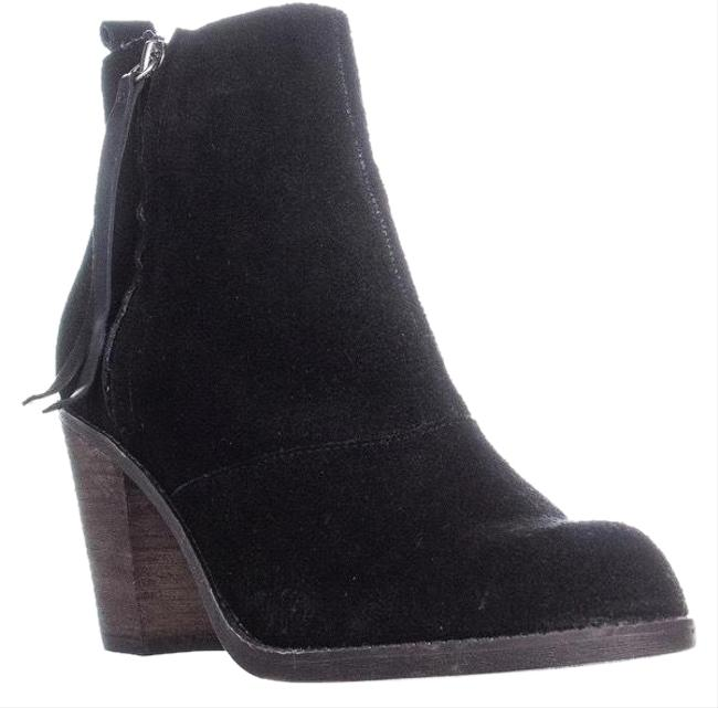 DV by Dolce Vita Black Suede Ankle Boots/Booties Size US 10 Regular (M, B) DV by Dolce Vita Black Suede Ankle Boots/Booties Size US 10 Regular (M, B) Image 1