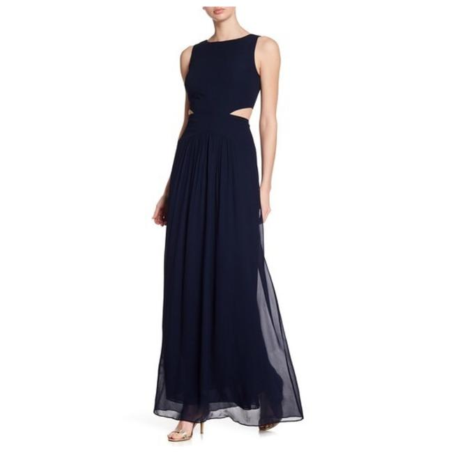 Preload https://img-static.tradesy.com/item/24415600/nicole-miller-navy-queen-of-the-night-cutout-gown-long-formal-dress-size-6-s-0-0-650-650.jpg