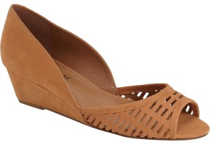 French Sole tan Wedges