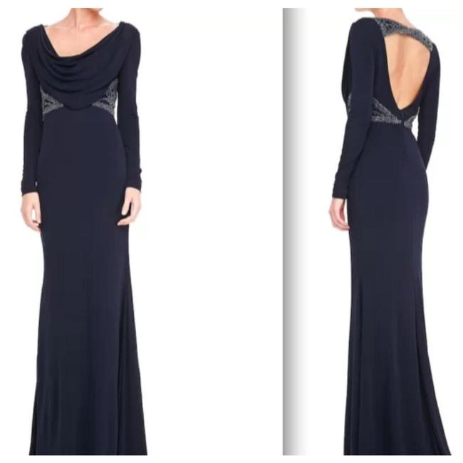 Preload https://img-static.tradesy.com/item/24416112/badgley-mischka-navy-blue-collection-cowlneck-beaded-waist-open-back-gown-long-formal-dress-size-6-s-0-0-650-650.jpg