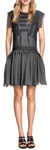 H&M short dress Dk Grey on Tradesy