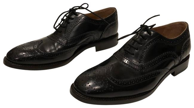 Marc Jacobs Black New Lace Up Leather Oxford Flats Size EU 38 (Approx. US 8) Regular (M, B) Marc Jacobs Black New Lace Up Leather Oxford Flats Size EU 38 (Approx. US 8) Regular (M, B) Image 1