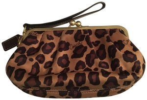Coach Wristlet in Gold, Brown