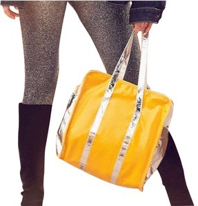 Urban Outfitters Tote in Yellow, Silver