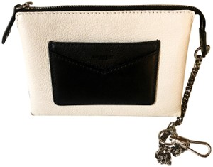 Givenchy Brand New Limited Availability Givenchy Bicolor Duetto Zip Pouch