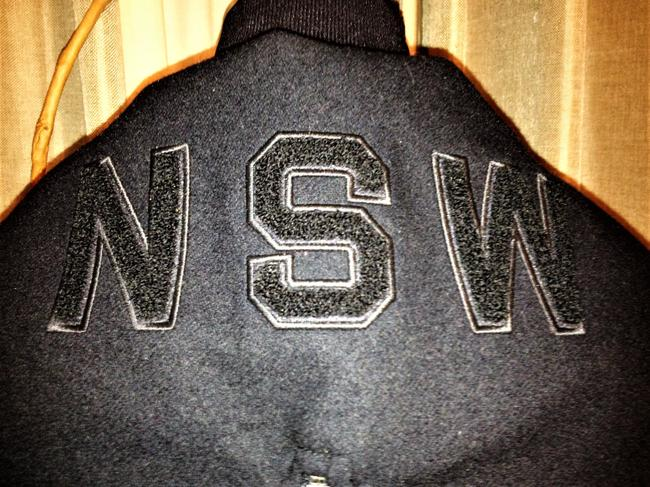 Nike Black Nsw Collection Destroyer / Wool Hooded Varsity Jacket Size 2 (XS) Nike Black Nsw Collection Destroyer / Wool Hooded Varsity Jacket Size 2 (XS) Image 7