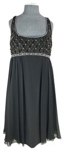 Marchesa Notte Sequin Embellished Sparkly Silk Sleeveless Dress
