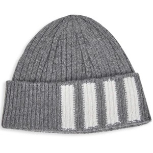 Thom Browne Thom Browne Cashmere Hat Gray