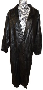 Scully Genuine Leather 2 Button Career Trench Coat