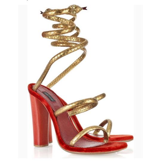 Preload https://img-static.tradesy.com/item/24417279/marc-jacobs-red-rare-snake-wrap-around-coil-watersnake-heels-sandals-size-eu-39-approx-us-9-regular-0-0-540-540.jpg