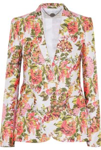 Stella McCartney Stella McCartney Neon Floral Jacquard Jackets Size 42