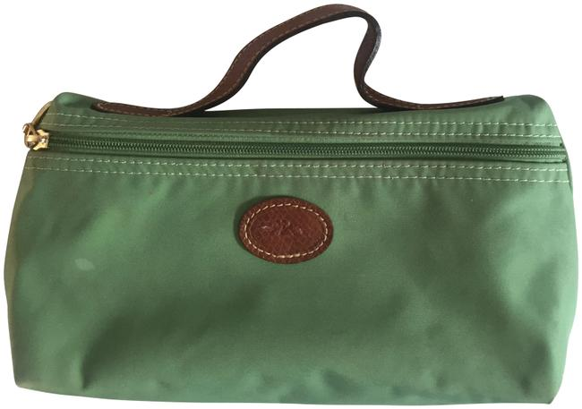 Item - Green Le Pliage Makeup Case Cosmetic Bag