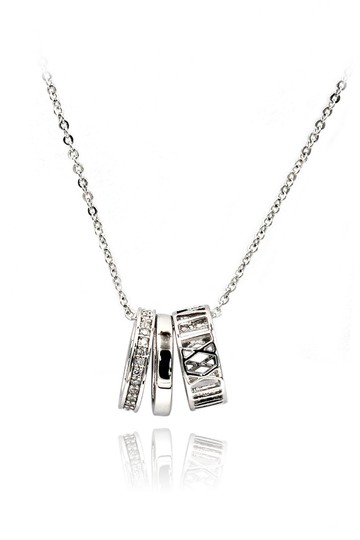 Preload https://img-static.tradesy.com/item/24417531/silver-sterling-lady-cricle-crystal-necklace-0-0-540-540.jpg