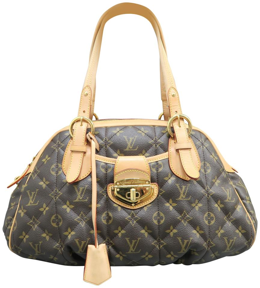 0f82276075e6 Louis Vuitton Etoile Bowling Brown Shoulder Monogram Canvas Tote ...