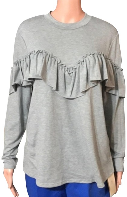 Unbranded Gray Blouse Size 8 (M) Unbranded Gray Blouse Size 8 (M) Image 1
