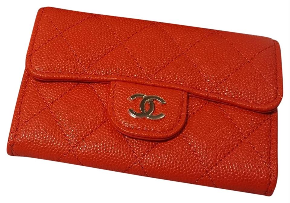 9176c542949089 Chanel NEW in the box Classic flap Caviar Quilted card holder wallet Image  0 ...
