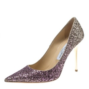 Jimmy Choo Glitter Leather Multicolor Pumps