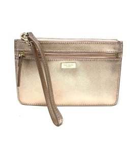 Kate Spade Kate Spade Tinie Laurel Way Rose Gold Wristlet Wallet