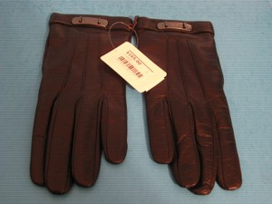 Coach NWT Coach Soft Nappa Leather Black Swagger Driving Gloves, Size 6.5