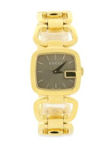 b3c21de049b Gucci Swiss Gold-Tone Stainless Steel Bracelet Watch