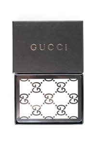 Gucci Brand New Monogram Card Deck