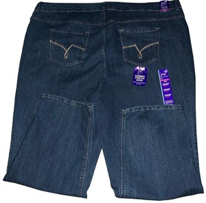 Just My Size Straight Leg Jeans-Light Wash