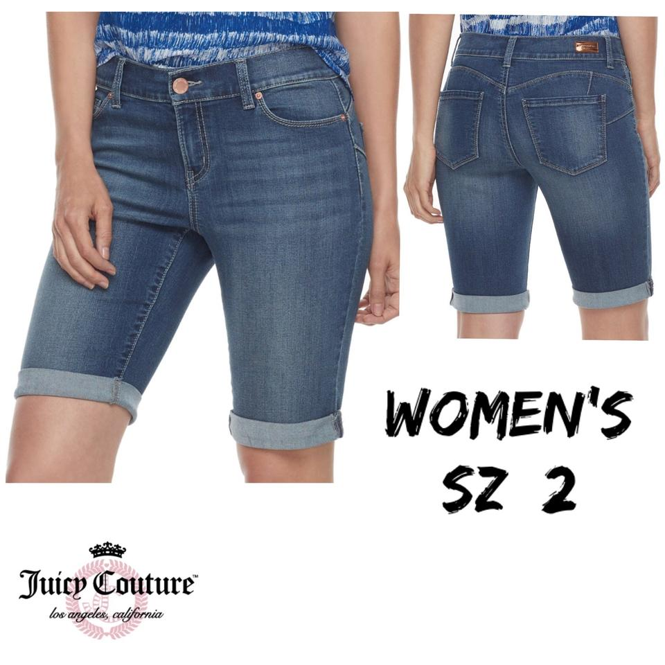 747b2db91d Juicy Couture Bermuda Shorts Jean Image 0 ...
