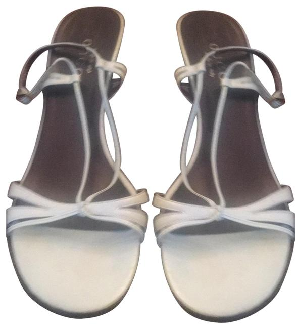 Item - Pale Blue/Grey Strappy Sandals Size EU 38 (Approx. US 8) Wide (C, D)