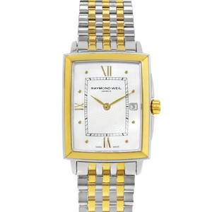 Raymond Weil Mother Of Pearl Rectangular Two Tone 5956-STP-00915